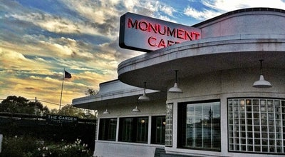 Photo of American Restaurant The Monument Café at 500 S Austin Ave, Georgetown, TX 78626, United States