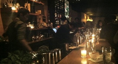 Photo of Cocktail Bar Pegu Club at 77 W Houston St, New York, NY 10012, United States