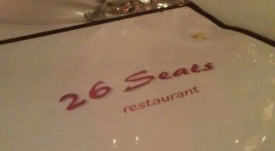 Photo of French Restaurant 26 Seats at 168 Avenue B, New York, NY 10009, United States