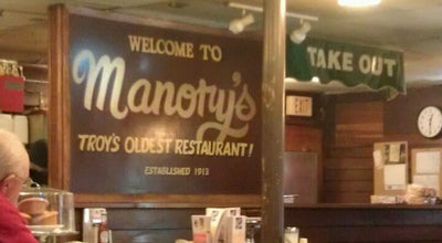 Photo of Diner Manory's Restaurant at 99 Congress St, Troy, NY 12180, United States