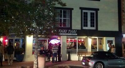 Photo of Thai Restaurant Thai Thai Village Sushi at 100 Harrison St, Cocoa, FL 32922, United States