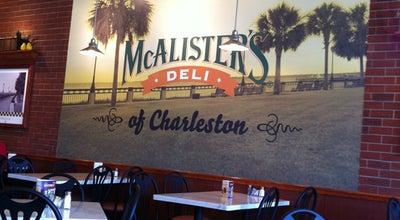 Photo of Deli / Bodega McAlister's Deli at 4950 Centre Pointe Dr, Charleston, SC 29418, United States