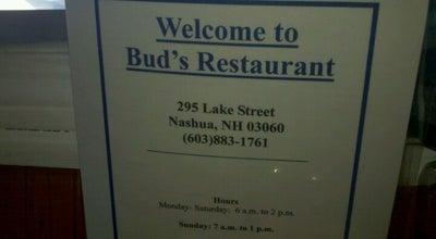 Photo of Diner Bud's Restaurant at 295 Lake St, Nashua, NH 03060, United States