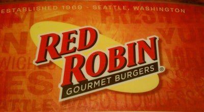Photo of Burger Joint Red Robin Gourmet Burgers at 11675 S 73rd St, Papillion, NE 68046, United States