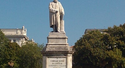 Photo of Monument / Landmark Monumento a Cavour at Piazza Cavour, ancona 60121, Italy
