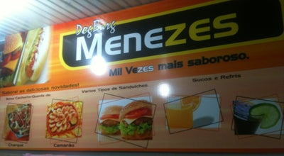 Photo of Burger Joint Lanchonete do Menezes at Pç. Comendador Peixoto, Penedo 57200-000, Brazil
