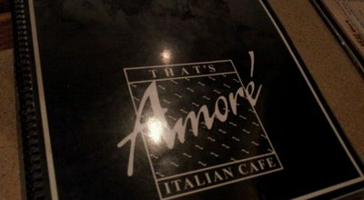 Photo of Italian Restaurant That's Amore at 5080 S 108th St, Greenfield, WI 53228, United States
