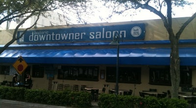 Photo of American Restaurant Downtowner Saloon at 408 S Andrews Ave, Fort Lauderdale, FL 33301, United States