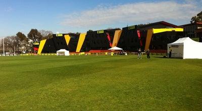 Photo of Football Stadium Richmond Football Club at Punt Rd Oval Yarra Park, Richmond, VI 3121, Australia