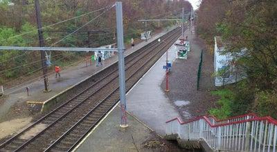 Photo of Train Station Station Boondaal / Gare de Boondael at Woudlaan / Avenue De La Fôret, Elsene / Ixelles 1050, Belgium