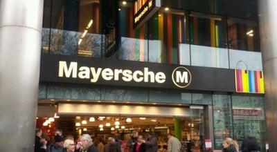 Photo of Bookstore Mayersche Buchhandlung at Neumarkt 2, Köln 50667, Germany