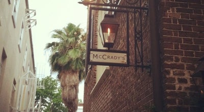 Photo of New American Restaurant McCrady's  at 2 Unity Alley, Charleston, SC 29401, United States