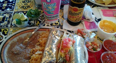 Photo of Mexican Restaurant Rosa's Cafe at 2200 Precinct Line Rd, Hurst, TX 76054, United States