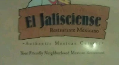 Photo of Mexican Restaurant El Jalisciense at 1224 Russell Pkwy, Warner Robins, GA 31088, United States