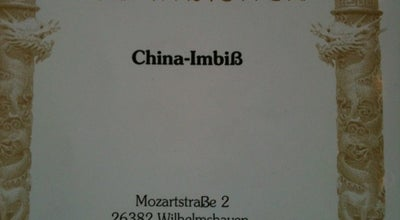 Photo of Chinese Restaurant Zum Drachen - China-Imbiß at Mozartstr. 2, Wilhelmshaven 26382, Germany