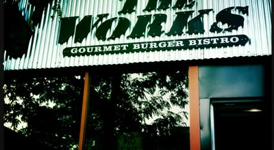 Photo of Burger Joint The Works Gourmet Burger Bistro at 97 Wyndham St. N., Guelph, On N1H 4E9, Canada