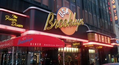 Photo of Other Venue The Brooklyn Diner at 1500 Broadway, New York, NY 10036, United States