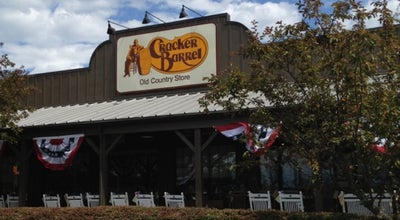 Photo of American Restaurant Cracker Barrel Old Country Store at 30 Research Dr. I-95 & Woodmont Rd., Milford, CT 06460, United States