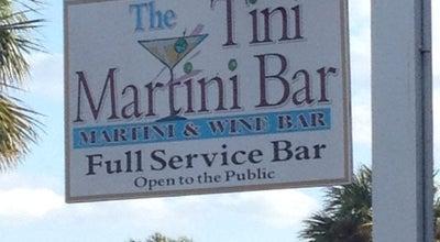 Photo of Cocktail Bar The Tini Martini Bar at 24 Avenida Menendez, St Augustine, FL 32084, United States