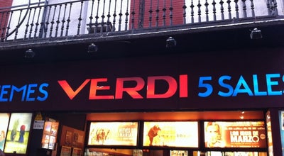 Photo of Indie Movie Theater Verdi Barcelona at Verdi, 32, Barcelona 08012, Spain