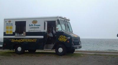 Photo of Food Truck Del's Lemonade Cart at Newport, RI, United States