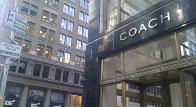 Photo of Accessories Store Coach at 595 Madison Ave, New York, NY 10022, United States