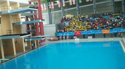 Photo of Pool Jakabaring Aquatic Stadium at Jalan Gubernur Hasan Bastari, Palembang, Indonesia