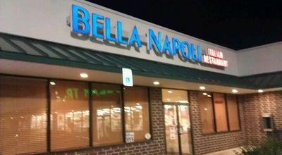 Photo of Italian Restaurant Bella Napoli at 350 Mountain Rd, Pasadena, MD 21122, United States