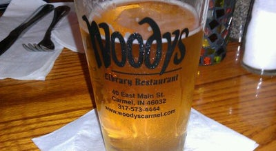 Photo of American Restaurant Woody's Library Restaurant at 40 E Main St, Carmel, IN 46032, United States