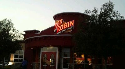 Photo of Burger Joint Red Robin Gourmet Burgers at 12271 Foothill Blvd, Rancho Cucamonga, CA 91739, United States