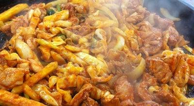 Photo of Korean Restaurant 1.5닭갈비 at 춘천시 200-954, South Korea