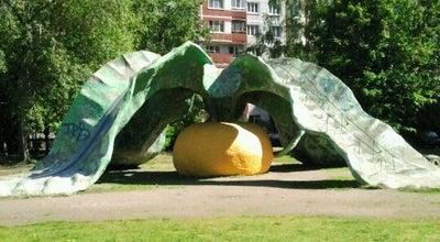 """Photo of Playground Горка """"Репка"""" at Ул. Кораблестроителей, 39, Санкт-Петербург, Russia"""