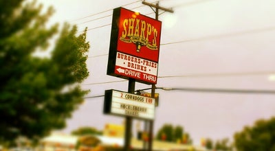 Photo of Burger Joint Sharp's Burger Ranch at 1201-1299 21st St, Lewiston, ID 83501, United States