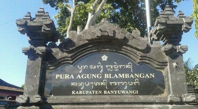 Photo of Hindu Temple Pura Agung Blambangan at Desa Tembok Rejo, Banyuwangi, Indonesia