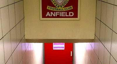 Photo of Soccer Stadium Anfield at Anfield Rd, Liverpool L4 0TH, United Kingdom