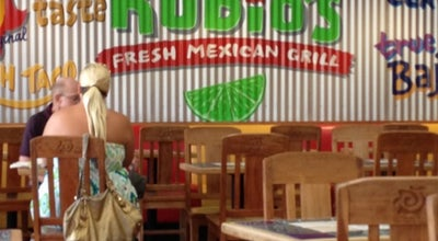 Photo of Mexican Restaurant Rubio's at 5500 Grossmont Center Dr, La Mesa, CA 91942, United States