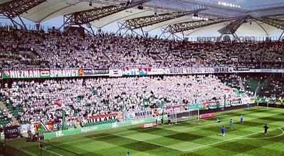 Photo of Soccer Stadium Stadion Miejski Legii Warszawa im. Marszałka Józefa Piłsudskiego at Łazienkowska 3, Warszawa 00-449, Poland