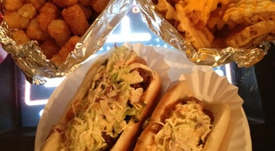 Photo of American Restaurant Crif Dogs at 113 Saint Marks Pl, New York, NY 10009, United States