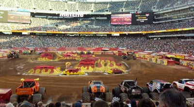 Photo of Racetrack Advance Auto Parts Monster Jam at East Rutherford, NJ 07073, United States