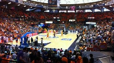 Photo of Basketball Stadium Pavelló Font de Sant Lluís at Av. Hermanos Maristas, 16, Valencia 46013, Spain