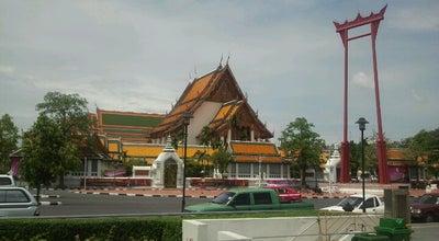 Photo of Buddhist Temple วัดสุทัศน์เทพวรารามฯ (Wat Suthat Thepwararam) at 146 Bamrung Mueang Rd., Phra Nakhon 10200, Thailand