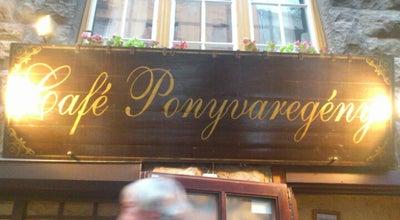 Photo of Cafe Café Ponyvaregény at Bercsényi U. 5., Budapest 1111, Hungary
