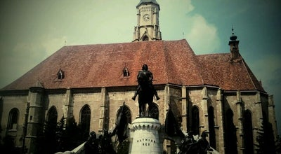 "Photo of Monument / Landmark Ansamblul Monumental ""Matei Corvin"" at Piața Unirii, Cluj-Napoca, Romania"