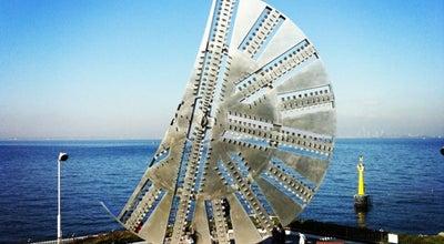 Photo of Monument / Landmark 建設記念碑 カッターフェイス at 中島地先, 木更津市 292-0071, Japan