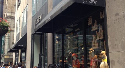 Photo of Clothing Store J.Crew at 347 Madison Avenue, New York, NY 10017, United States