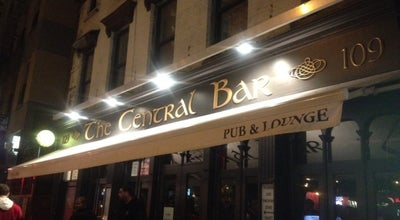 Photo of Pub The Central Bar at 109 E 9th St, New York, NY 10003, United States
