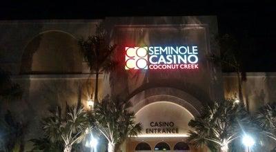 Photo of Casino Seminole Casino Coconut Creek at 5550 Nw 40th St, Coconut Creek, FL 33073, United States