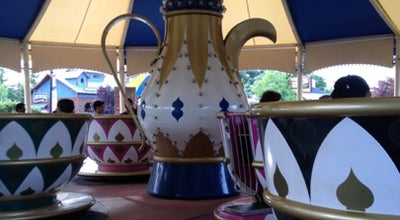 Photo of Theme Park Teacups at Six Flags New England, Agawam, MA 01001, United States