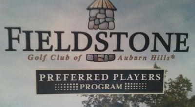 Photo of Golf Course Fieldstone Golf Club at 1984 Taylor Rd, Auburn Hills, MI 48326, United States