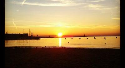 Photo of Beach Plaża Gdynia Śródmieście at Gdynia, Poland